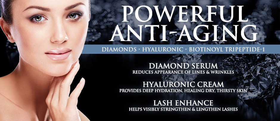 Anti-Aging Diamond Cream, Reduces appearance of lines & wrinkles By Ganique Biore Combination Skin Balancing Cleanser Deep Cleansing 6.77 oz (Pack of 2)